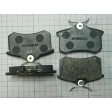 Колодки тормозные задние (B11-6BH3502080)
