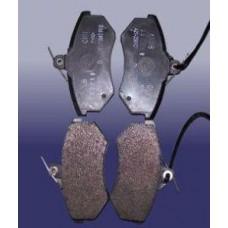 Колодки тормозные передние (A13-3501080)