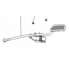 Педаль газа с креплением СК (1402382180)