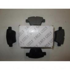 Колодки тормозные задние Geely EC7/EC7RV (Оригинал)(1064001725)