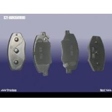 Колодки тормозные передние (новый тип) S21,S12 (S21-6GN3501080)