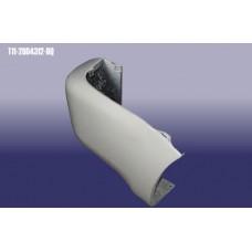 Бампер задний правая часть (T11-2804312-DQ)