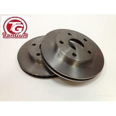 Тормозной диск передний ELANTRA 06- (51712-2H000) TANGUN