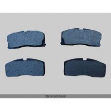 Колодки тормозные передние с ABS CK (3501190005)